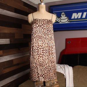 TOPSHOP - Silk Shift Dress